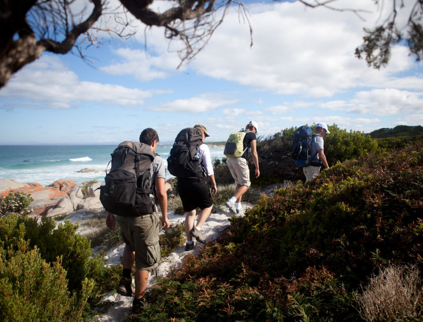 hiking bay of fires
